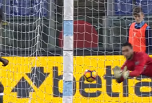 Gianluigi Donnarumma faz 9 defesas no SS Lazio 1-1 AC Milan