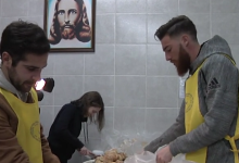 José Sá preparou e distribuiu comida para pessoas carenciadas por Porto
