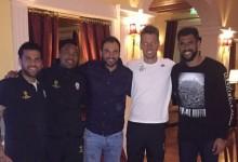 Vagner Silva e Vaná Alves visitaram Neto Murara