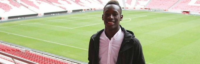 Celton Biai assina contrato profissional com o SL Benfica