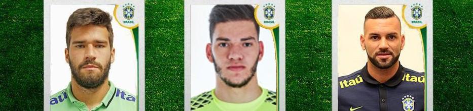 Ederson Moraes convocado à seleção do Brasil para jogos com Uruguai e Paraguai