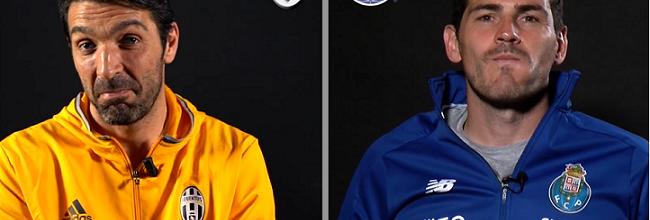 Gianluigi Buffon e Iker Casillas em entrevista dupla com quase 5 minutos e muita história
