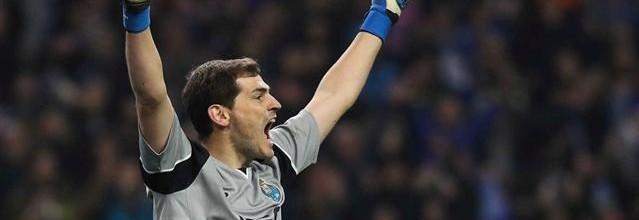 Iker Casillas não sofre há 480 minutos e estabelece recorde pessoal de balizas virgens