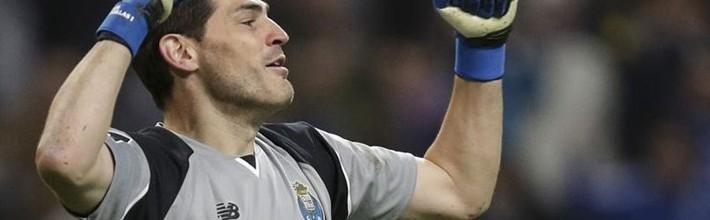 Iker Casillas não sofre golos há 390 minutos na Primeira Liga