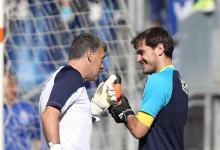 """Juan Carlos Arévalo destaca """"qualidade e talento"""" de Iker Casillas """"na hora da verdade"""""""