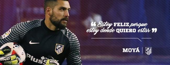 Miguel Ángel Moyá renova pelo Atlético de Madrid