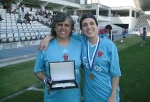 Rosa Cruz: aos 54 anos é a guarda-redes mais velha de Portugal e jogou pelo CP Martim