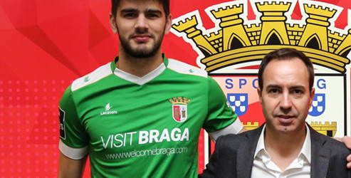 Tiago Pereira renova pelo SC Braga