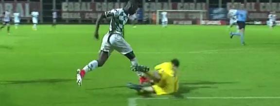 Adriano Facchini contém números da derrota – CD Nacional 0-1 Moreirense FC