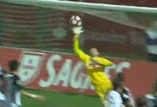 Adriano Facchini destaca-se em três defesas vistosas – CD Nacional 1-2 Vitória SC