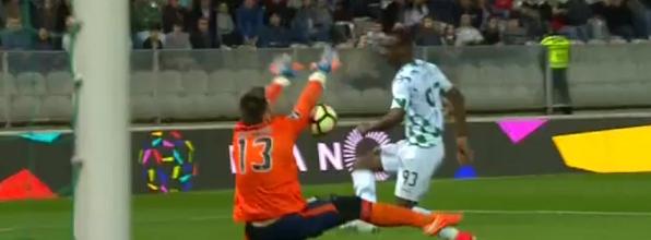 Ricardo Nunes tranca a baliza em 45 minutos – Moreirense FC 0-0 GD Chaves