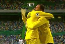 Vagner Silva ressentiu-se de lesão no aquecimento e passou confiança a Mickaël Meira