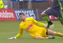 Adriano Facchini adia derrota em duas defesas – CD Nacional 1-2 Vitória FC
