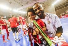 Bebé Vaz festejou 21º título após vencer quinta Taça de Portugal com o SL Benfica