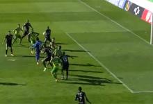 Bruno Varela subiu à área adversária e criou perigo – CD Tondela 2-1 Vitória FC