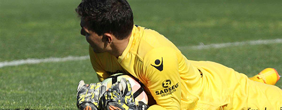 Douglas Jesus celebrou 150 jogos com o Vitória SC