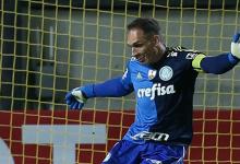 Fernando Prass iguala Emerson Leão na história do SE Palmeiras na Copa Libertadores
