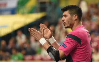Léo Higuita eleito o melhor guarda-redes de Futsal do Mundo pelo segundo ano consecutivo