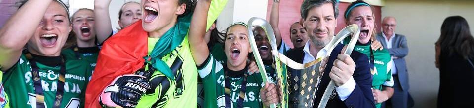 Patrícia Morais e Inês Pereira campeãs pelo Sporting CP com apenas dez golos sofridos
