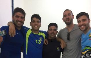 Filipe Mendes, Patrick Costinha, Miguel Assunção e Gonçalo Ferreira colocaram Real SC pela primeira vez na Segunda Liga