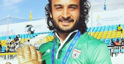 Peyman Hosseini eleito o melhor guarda-redes do Mundial de Futebol de Praia