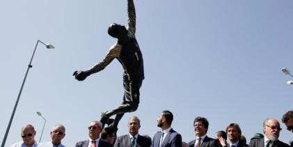 Rui Patrício viu estátua inaugurada em sua homenagem em Leiria