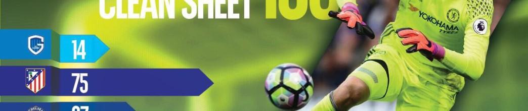 Thibaut Courtois alcança 150 jogos sem sofrer