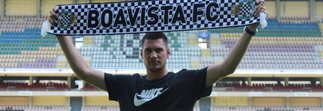 Raphael Spiegel assina pelo Boavista FC