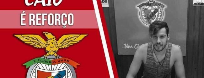 André Caio assina pelo Benfica de Castelo Branco