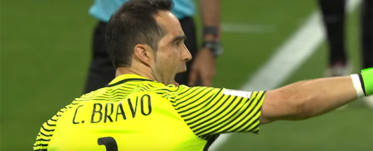 Claudio Bravo defende três penaltis de Portugal e coloca Chile na final da Taça das Confederações