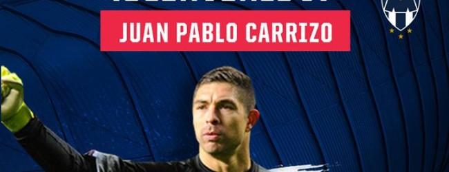 Juan Pablo Carrizo assina pelo CF Monterrey