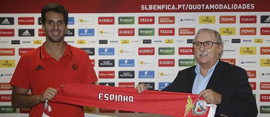 Miguel Espinha assina pelo SL Benfica