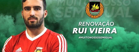 Rui Vieira renova pelo Rio Ave FC