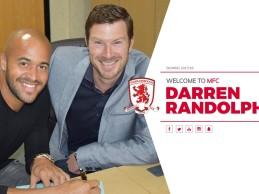 Darren Randolph assina pelo Middlesbrough FC