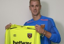 Joe Hart emprestado ao West Ham UFC