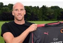 John Ruddy assina pelo Wolverhampton WFC para ser treinado por Rui Barbosa