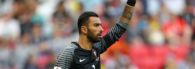 Rui Patrício terminou Taça das Confederações como o terceiro guarda-redes mais internacional