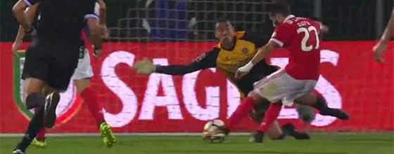 Cássio Anjos vale empate com três defesas nos minutos finais – Rio Ave FC 1-1 SL Benfica