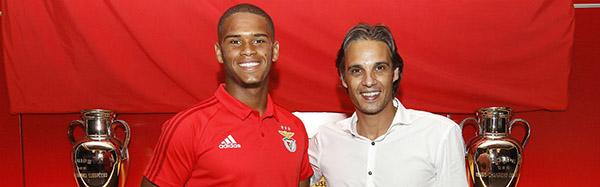 Fábio Duarte renova pelo SL Benfica