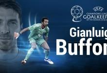 Gianluigi Buffon vence prémio de Melhor Guarda-Redes da Champions League 2016/2017