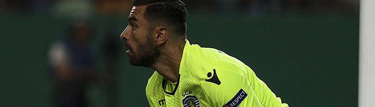 Rui Patrício sofreu o primeiro golo de 2017/2018 ao fim de 380 minutos