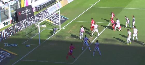 Vagner Silva defende vitória a cinco minutos do fim – Boavista FC 1-0 CD Aves