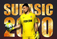 Danijel Subasic renova pelo AS Monaco