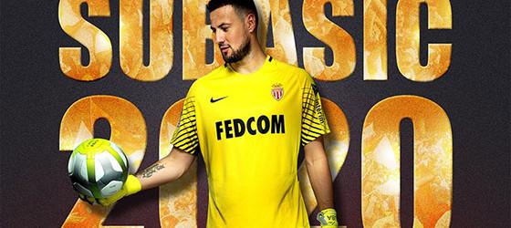 Danijel Subasic renova pelo AS Monaco