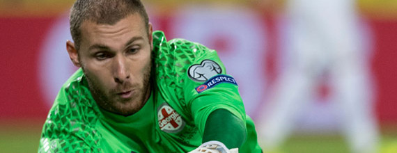 Giorgi Makaridze segura titularidade na Geórgia sem ser convocado no Moreirense FC