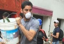 Jesús Corona ajuda e apoia vítimas de terramoto no México