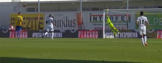 José Moreira voa em defesa espetacular no Estoril 0-2 GD Chaves