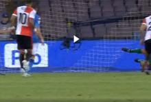 Pepe Reina e Andriy Pyatov defendem penaltis na Champions League por Napoli e Shakhtar