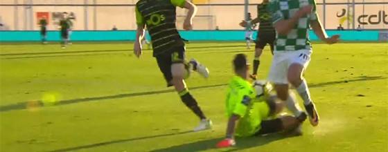 Rui Patrício destaca-se em várias defesas no jogo 300 – Moreirense FC 1-1 Sporting CP