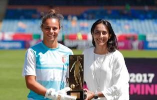 """Rute Costa: """"Em Portugal o talento das guarda-redes precisa ser estimulado e trabalho"""""""